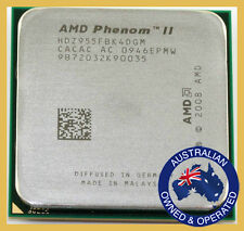 AMD Phenom II X4 955 3.2Ghz L3=6MB Quad-Core Processor Socket AM3 938-pin CPU