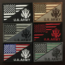 U.S. ARMY American Flag USA Military Tactical Morale Badge Subdued Emblem Patch