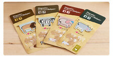 Safari Animals Magnetic Bookmarks With Ballpoint Pen Magnet Readers Gift Lovers