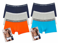 Michael Kors Underwear Ultimate Cotton Stretch Trunk 3-Pack MSRP $42.50