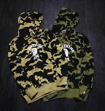 Unisex Japan Bape Classical Camo crew Monkey Sweater A Bathing Ape coat Hoodie