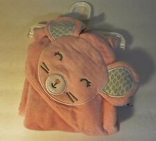 Carter's Layette Animal Hooded Towel ~ NWT