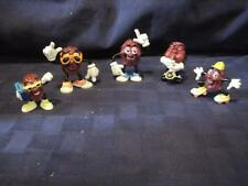 "1980's California Raisins Applause Calrab-Sax Player-Dancer-Skater-Lot 5  2"" -3"""