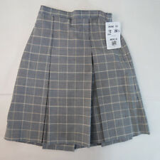 New NWT Becky Thatcher Plaid Skirt Model 34 Girls School Uniform Color 122