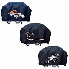 NFL Deluxe Vinyl Padded Grill Cover by Rico Industries -Select- Team Below