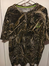 Realtree Max-5 Hunting Camo Camoflauge T-shirt Mens L  XL Short Sleeve