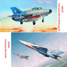 Trumpeter 02865 02219 1/48 1/32 Scale MiG-21UM/Mongol B Assembly Aircraft Model