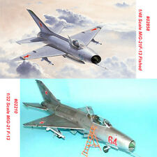 Trumpeter 02210 02858 1/32 1/48 MiG-21 F-13/Fishbed Assembly Aircraft Model Kit