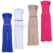 Women Clubwear Summer V Neck Playsuit Bodycon Party Jumpsuit Romper Trousers