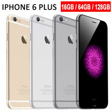 pple iPhone 6+ Plus 5S-16GB 64GB Factory Unlocked Smartphone Gold Gray Silver