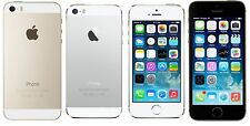 "Apple iPhone 5S- 16 32 64GB GSM ""Factory Unlocked"" Mobile Phone Gold Gray Silver"