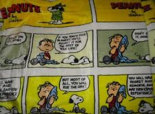 Snoopy Throw Blanket Charlie Brown Peanuts Woodstock PLUS Bonus Greeting Card!!!