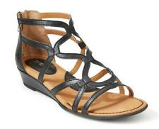 b.o.c. by Born Strappy Low Heeled Gladiator Sandals in Black