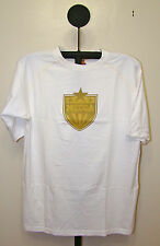 Mecca White or Gray Mens Crew Neck Short Sleeve Shirt - Size XL 2XL & 3XL