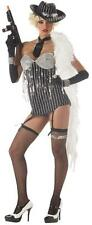 California Costume Glitzy Gangster Adult Women's Party Halloween Theater
