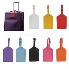 Luggage Tags Travel Accessories Suitcase Tag Name ID Address PU Leather Bag Tags