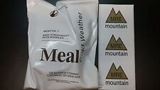Meal Cold Weather MCW foreign MRE meal ready to eat IRP FSR IMP EPA ration