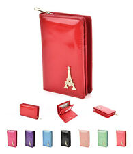 Womens Ladies Leather Wallet Purse Long Envelope Card Button Clutch Handbag Bag