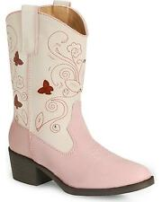 Roper Girls' Butterfly Light Cowgirl Boot Round Toe - 09-018-1201-1215