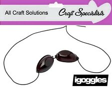 iGOGGLES = ELASTIC SUNBED GOGGLES = EYE PROTECTION GOGGLES FOR TANNING