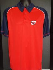 Washington Nationals Men's Majestic Golf Polo - NWT - FREE SHIPPING!