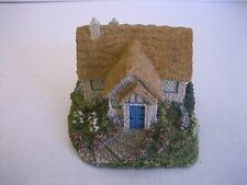 Hawthorne Thomas Kinkade Cedar Nook Cottage Sculpture #2734A Pre-Owned 1994