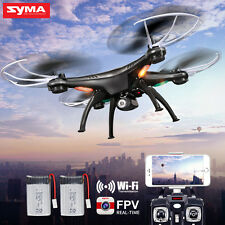 Syma 2.4Ghz 4CH X5SW Drone Wifi HD Camera FPV Real-Time Transmit RC Quadcopter