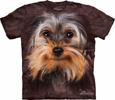 Yorkshire Terrier - Yorkie Dog Face T-Shirt or Womens Nightshirt
