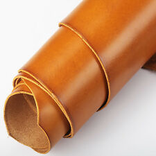 Wuta Vegetable Tanned Cowhide Leather Piece For Holsters Wallet Orange 2mm Thick