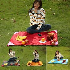 Outdoor Beach Camping Hiking Picnic Moistureproof Mat Nylon Blanket Gif Portable