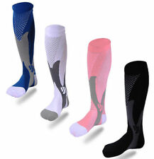 Women Men Leg Support Stretch Magic Compression Socks Performance Running Sports