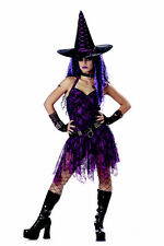 California Costume Gothic Rocking Witch Women's Halloween Outfit NEW