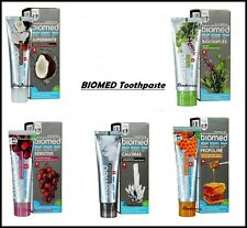 BIOMED Toothpaste NATURAL , No FLUORIDE & Free PARABENS, Whitening, Sensitive