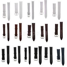 Padded Texture Leather Watch Band Great Replacement Watch Strap Men Women Watch