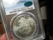 GREAT LOOKING MORGAN DOLLAR  1890-O PCGS & CAC MS-64+   A TOUGH DATE TO FIND