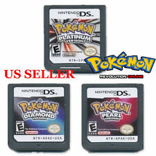 Platinum Pearl Diamond Version Game Card for Nintendo 3DS NDSI NDS NDSL Pokemon