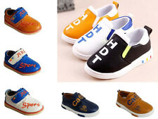 Baby Boys Casual Pumps Loafers Walk Formal Children Flat Boots Infant Shoes Size