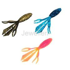 5Pcs Lifelike 3D Crawfish Soft Baits 13cm 14g Fishy Smell Shrimp Fishing Lures