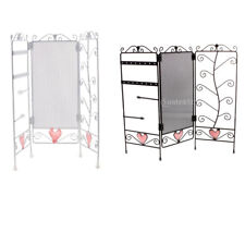 Foldable Screen Jewelry Rack Earring Bracelet Necklace Display Organizer