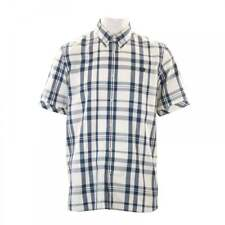 Fred Perry Mens Two Colour Check Shirt (Blue)
