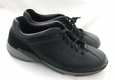 NEW CLARKS ACTIVE AIR RADIUS VISION MENS BLACK CASUAL SHOES
