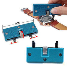 Rectangle Watch Back Case Cover Opener Remover Wrench Repair Kit Tool Adjustable