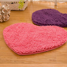 Doormat Bedroom Heart Love Carpet Fluffy Chenille Rug Mat Pad Cushion Hot Sell