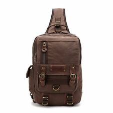 Fashion Travel Canvas Chest Package Men Women Bags Backpack Laptop Bag Retro New