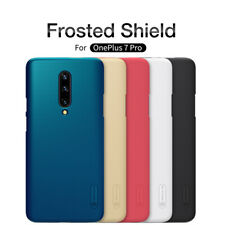 Original Nillkin For OnePlus 5 Frosted Matte Hard Case Cover Back Shield+ Film