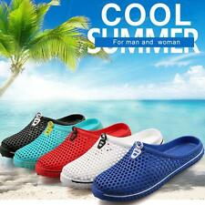 Summer Sandals Hollow Out breathable beach slippers Casual flat-bottomed Shoes E