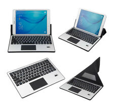 Slim Wireless Bluetooth 3.0 Leather Keyboard w/Touchpad Stand Leather Case Cover