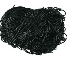 Black Licorice Laces - Licorice Strings - Pick a Size! -Free Expedited Shipping!
