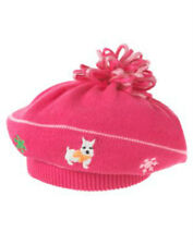 NWT Gymboree CHEERY ALL THE WAY Pink Westie Sweater Beret Hat 4T 5T 4 5