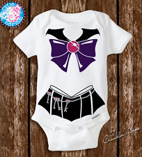 Baby Sailor Moon Pluto Costume Newborn Baby Girl Gifts Clothes Geeky Onesies